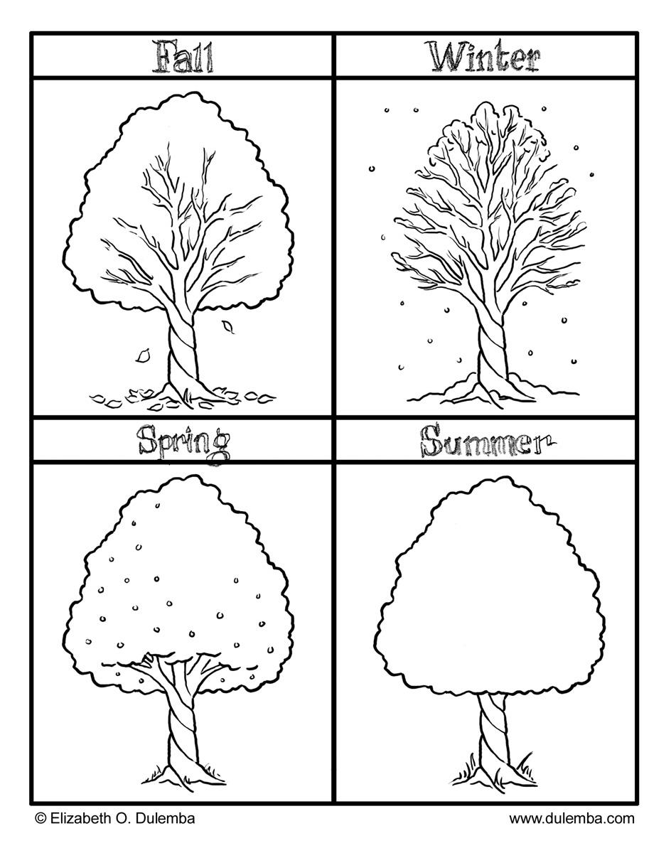 BILINGUAL AL-YUSSANA: TREES AND SEASONS