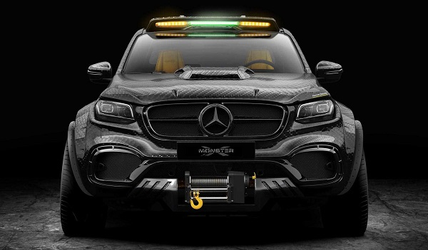 Exy Monster 6x6 Mercedes Benz Clase X Concept