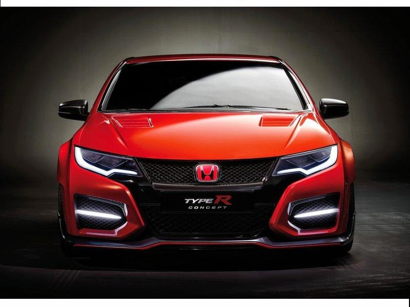 honda civic type r concept model year 2014 news cars new. Black Bedroom Furniture Sets. Home Design Ideas