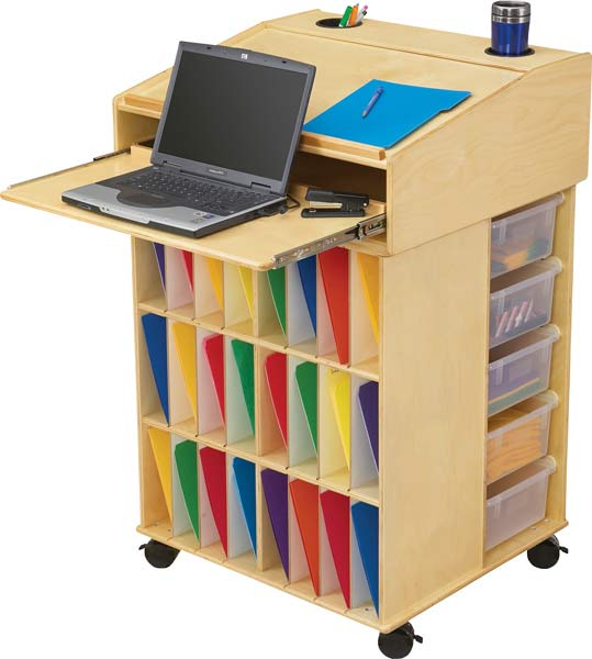 Standing Desks Are All The Rage Lately But What About A Teacher Desk