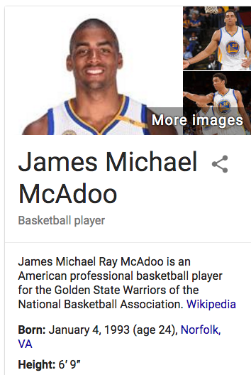 free to find truth: 35 49 66 86 121 149 | James McAdoo might
