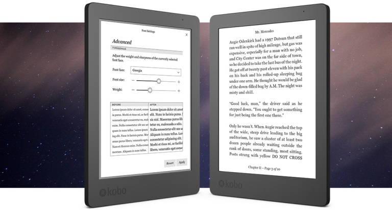 czytnik e-booków Kobo Aura Edition 2 - grafika