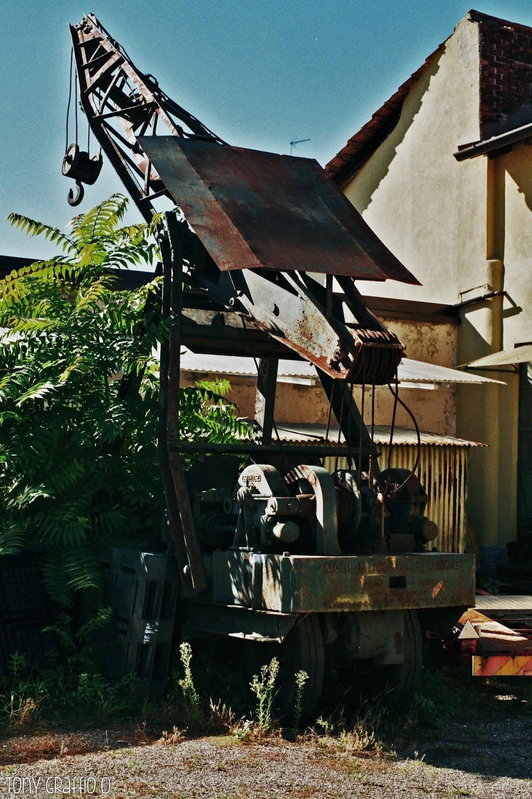 A Dergano ricompare una Ransomes & Rapier 6 ton diesel-electric crane (Kevin)