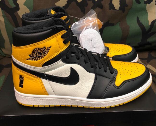 """a8df0215092cde Air Jordan 1 """"Yellow Toe"""" Goods number  AR1020-700. Release date  2019  summer"""
