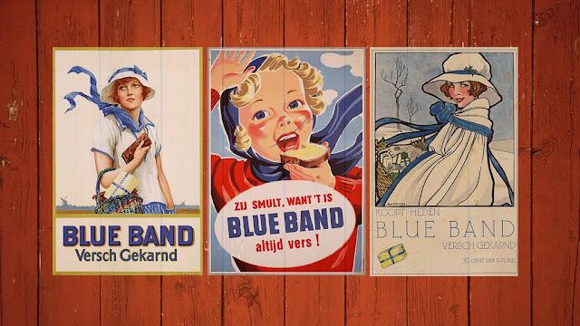bisnis, margarin, blue band, mentega