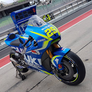 Jentera Iannone 29 Suzuki Ecstar MotoGP GSX RR 1000 Spec