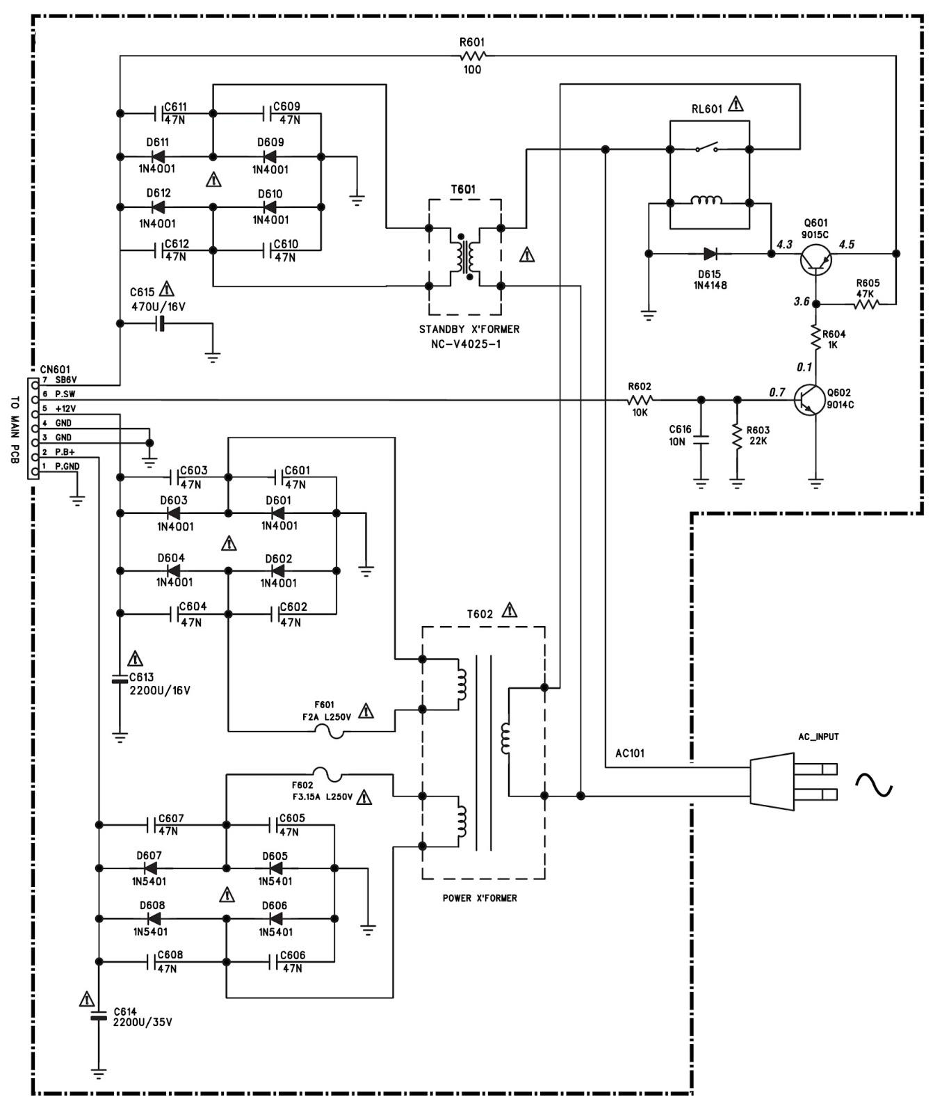 nokia 105 display diagram