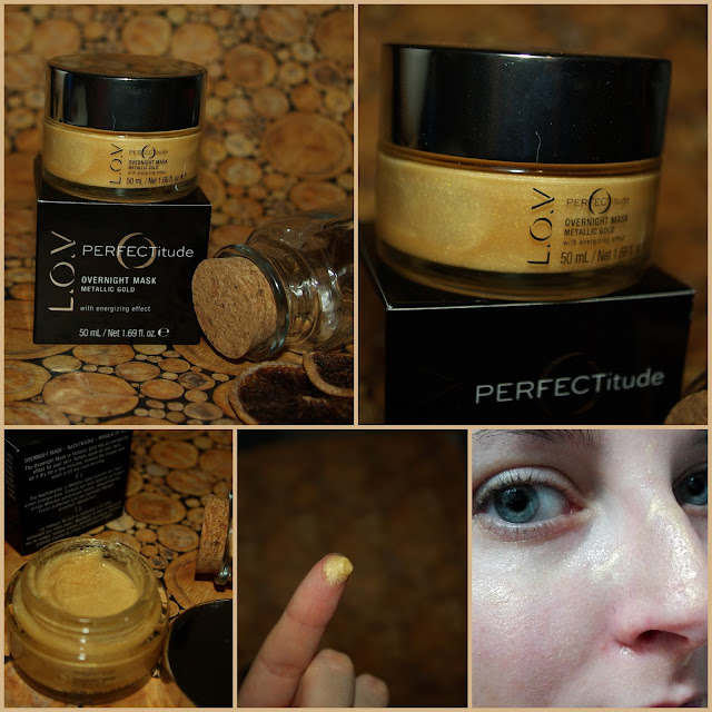 [Beauty] L.O.V PERFECTitude Overnight Mask Metallic Gold