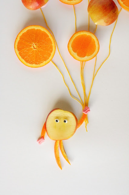 Food Art - Luftballons aus Orangen - Some Joys