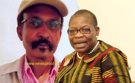 Col. Abubukar Dangiwa Umar and Oby Ezekwesili