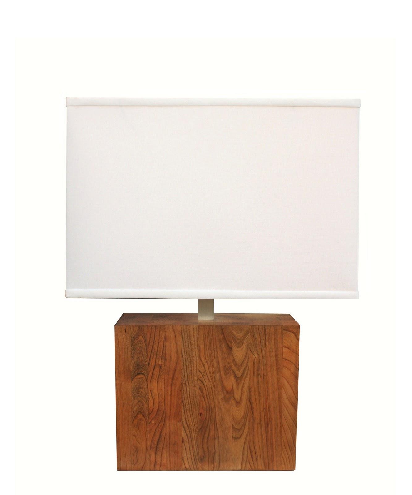 High Street Market Winston Wood Table Lamp
