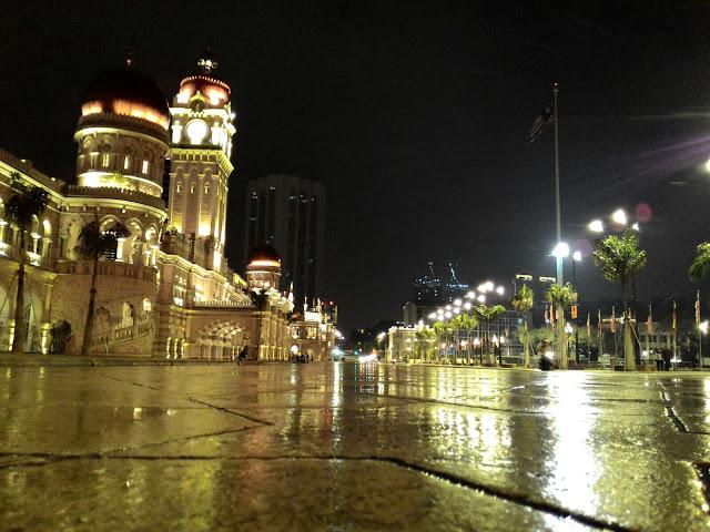Bangunan Sultan Abdul Samad, Dataran Merdeka Kuala Lumpur,