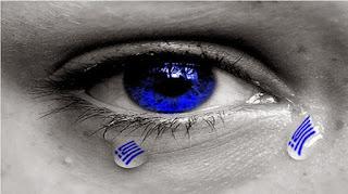 Βαθαίνει το σκοτάδι στον γαλάζιο ελληνικό ουρανό