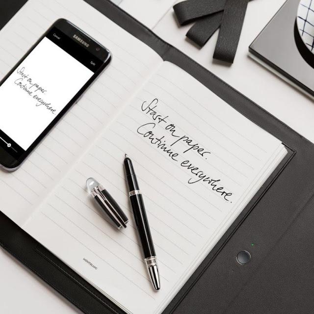 Membuat Catatan Digital dengan Montblanc Augmented Paper