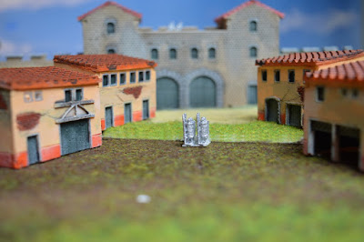 Set of 4 Roman Houses 1:144 (10-12mm) (Code: nj-144_rom2) 7