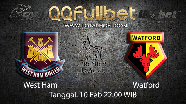 PREDIKSIBOLA - PREDIKSI TARUHAN BOLA WEST HAM VS WATFORD 10 FEBRUARI 2018 ( ENGLISH PREMIER LEAGUE )