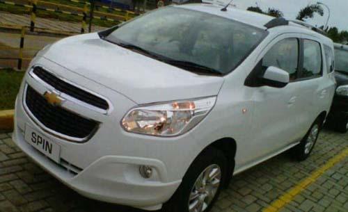 Harga dan Spesifikasi Chevrolet Spin Diesel