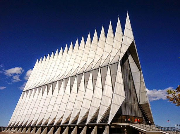 United States Air Force Academy Chapel Freedom Of Excess