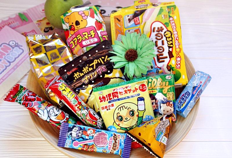 """""""Кавайные"""" сладости: Japan Candy Box / отзывы"""