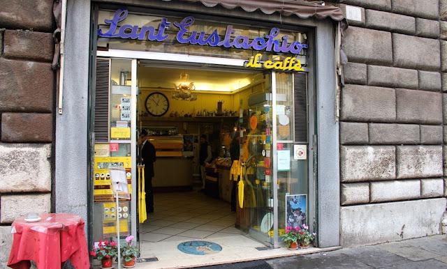 Restaurante Piazza Sant'Eustachio em Roma