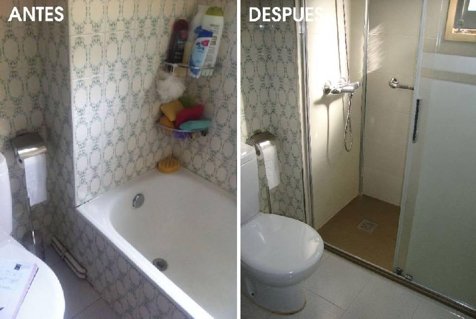 rehabilitacion de cuartos de baño antiguos