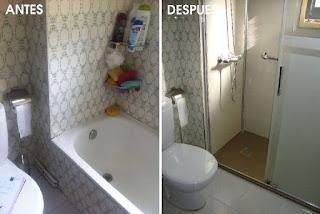 Rehabilitación de cuartos de baño antiguos