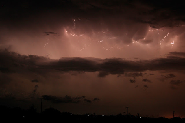 Lightning over Texas