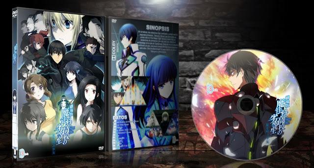 Mahouka Koukou no Rettousei Movie Hoshi wo Yobu Shoujo | Cover DVD |