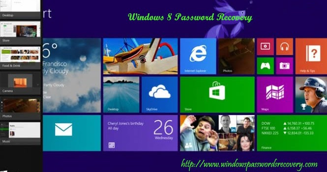 Windows 8 Password Recovery: Windows 8 Update to 8.1, How to Deal With Login Password Reset Problem?