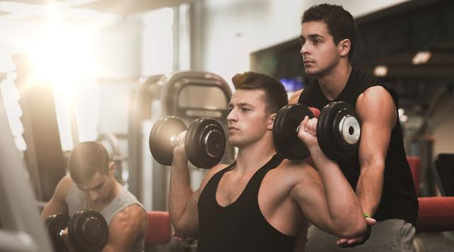 fitness gym untuk pria