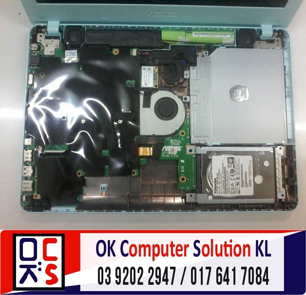 [SOLVED] LAPTOP ASUS TAK BOLEH ON | REPAIR LAPTOP CHERAS 2