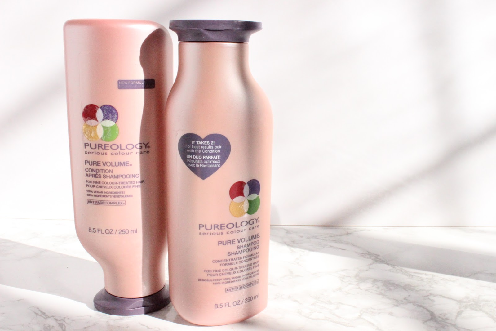 Pureology Pure Volume Shampoos and Conditioner