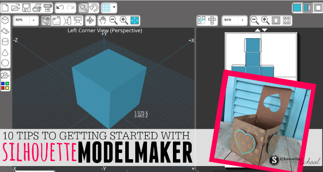 Silhouette model maker tutorial getting started with the for 3d blueprint maker