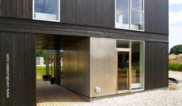 Casa prefabricada producida en Dinamarca