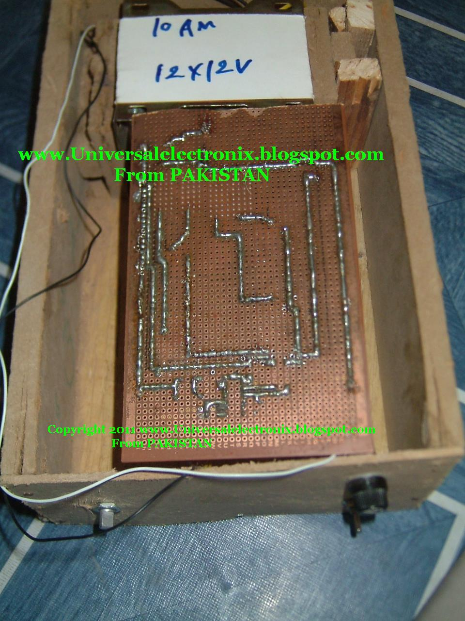 Everyone Want Electronics 100 Watt Inverter Circuit With Veroboard