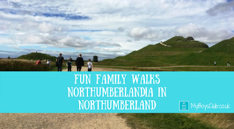 Fun Family Walks - Northumberlandia in Northumberland