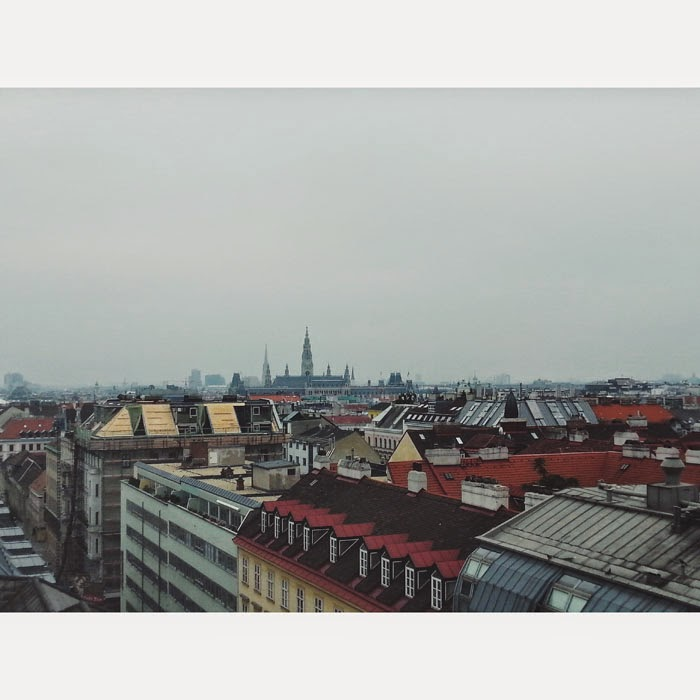 Vienna from the Rooftop, Austria