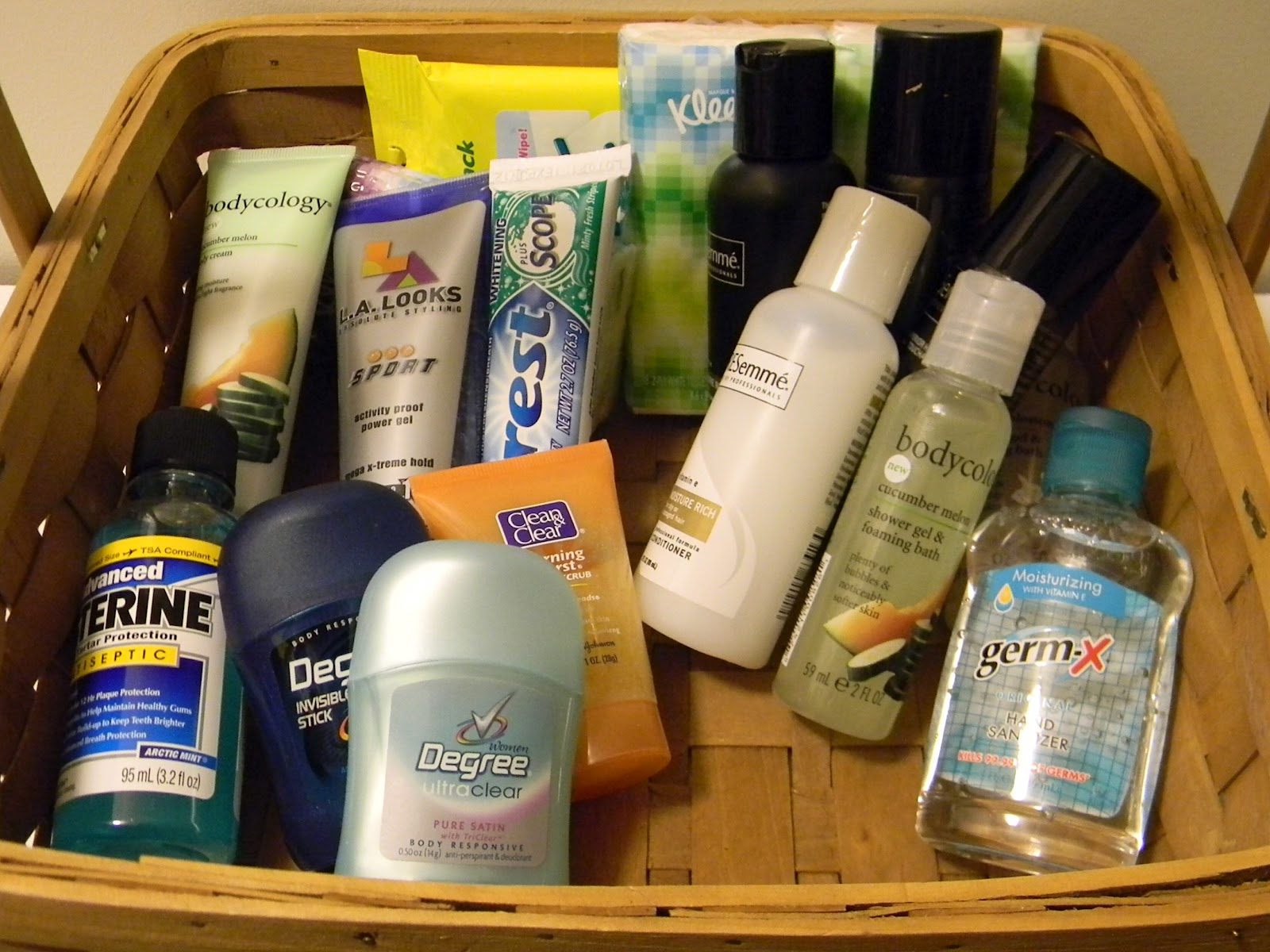 Where To Get Travel Size Toiletries