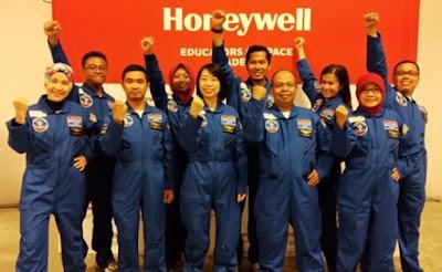 10 Guru Matematika  dan Sains Ikuti Simulasi Astronot