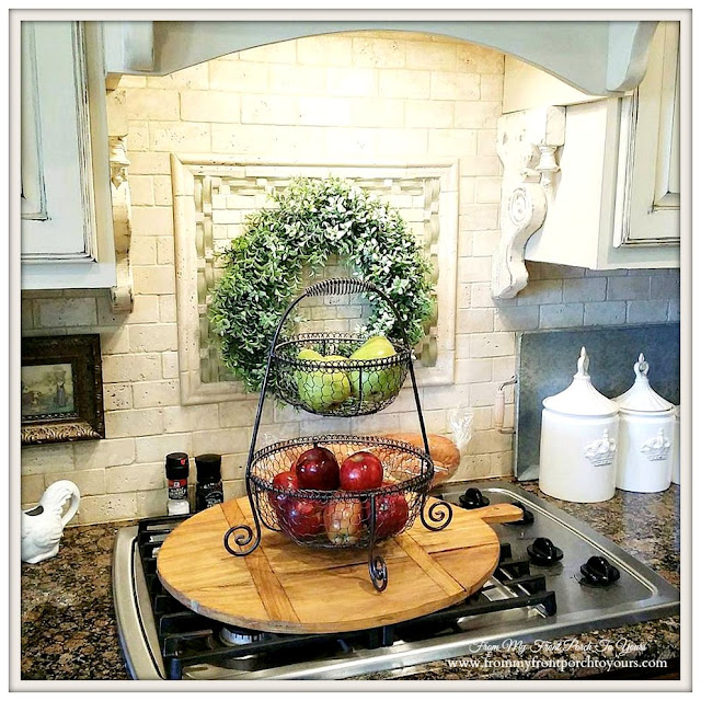French Country Kitchen-Famrhouse-From My Front Porch To Yours-Treasure Hunt Thursday