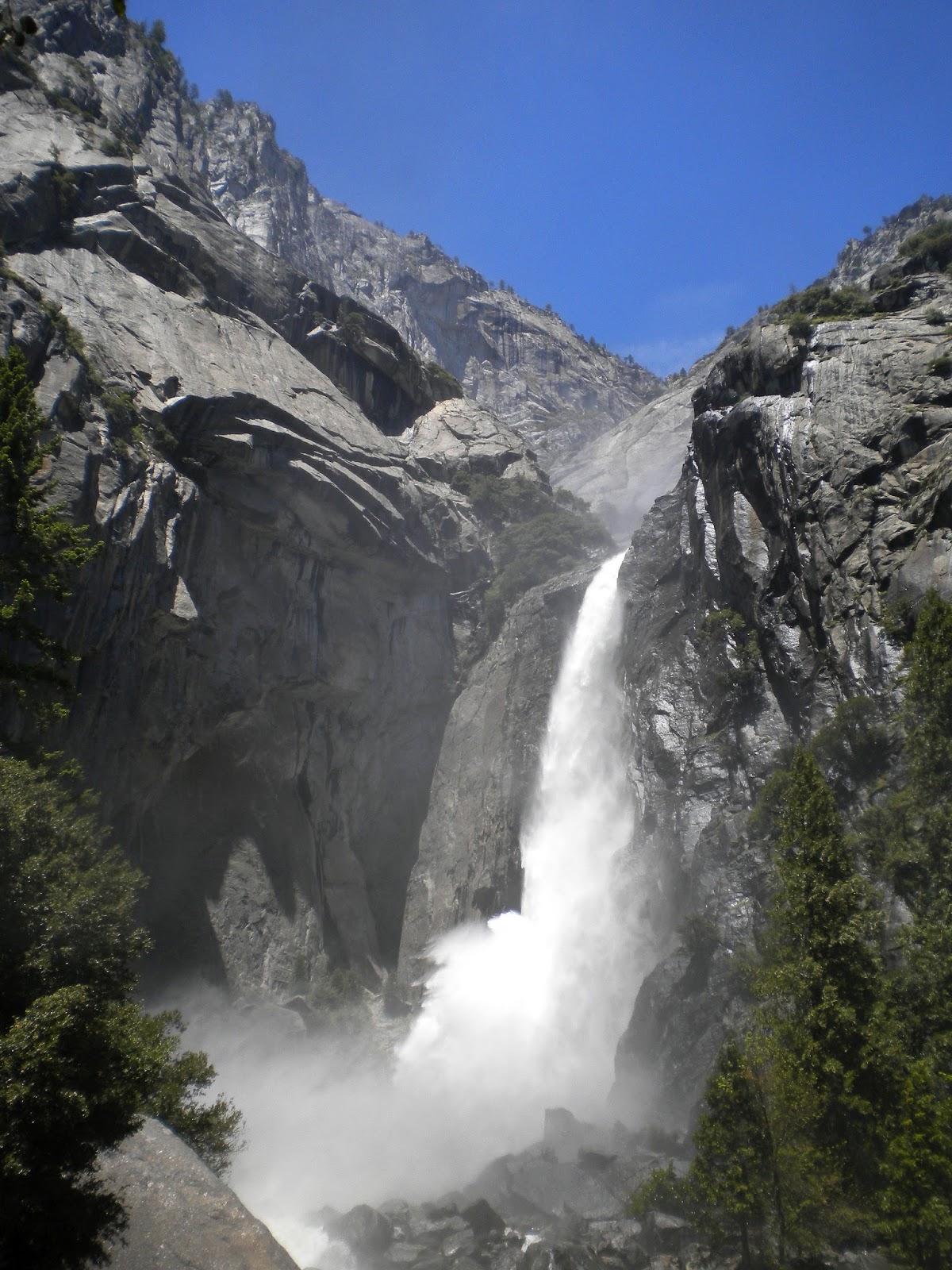 yosemite kansallispuisto national park california matkailu matkajuttu mallaspulla vesiputous waterfall