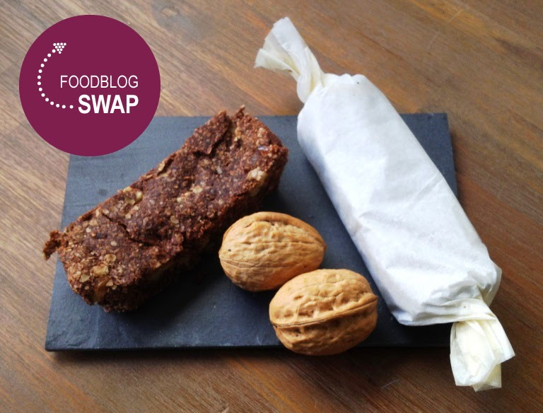 Foodblogswap: chocolade havermoutrepen met dadels