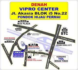 Alamat Vipro Center Bekasi Timur