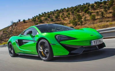McLaren 570S HD Green Wallpapers