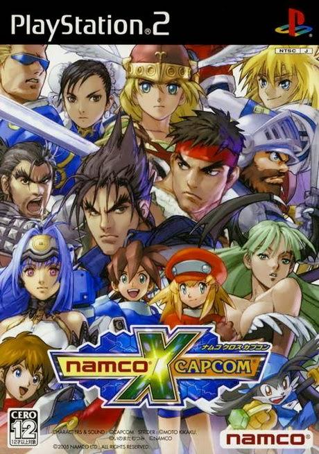 NAMCO X CAPCOM PS2