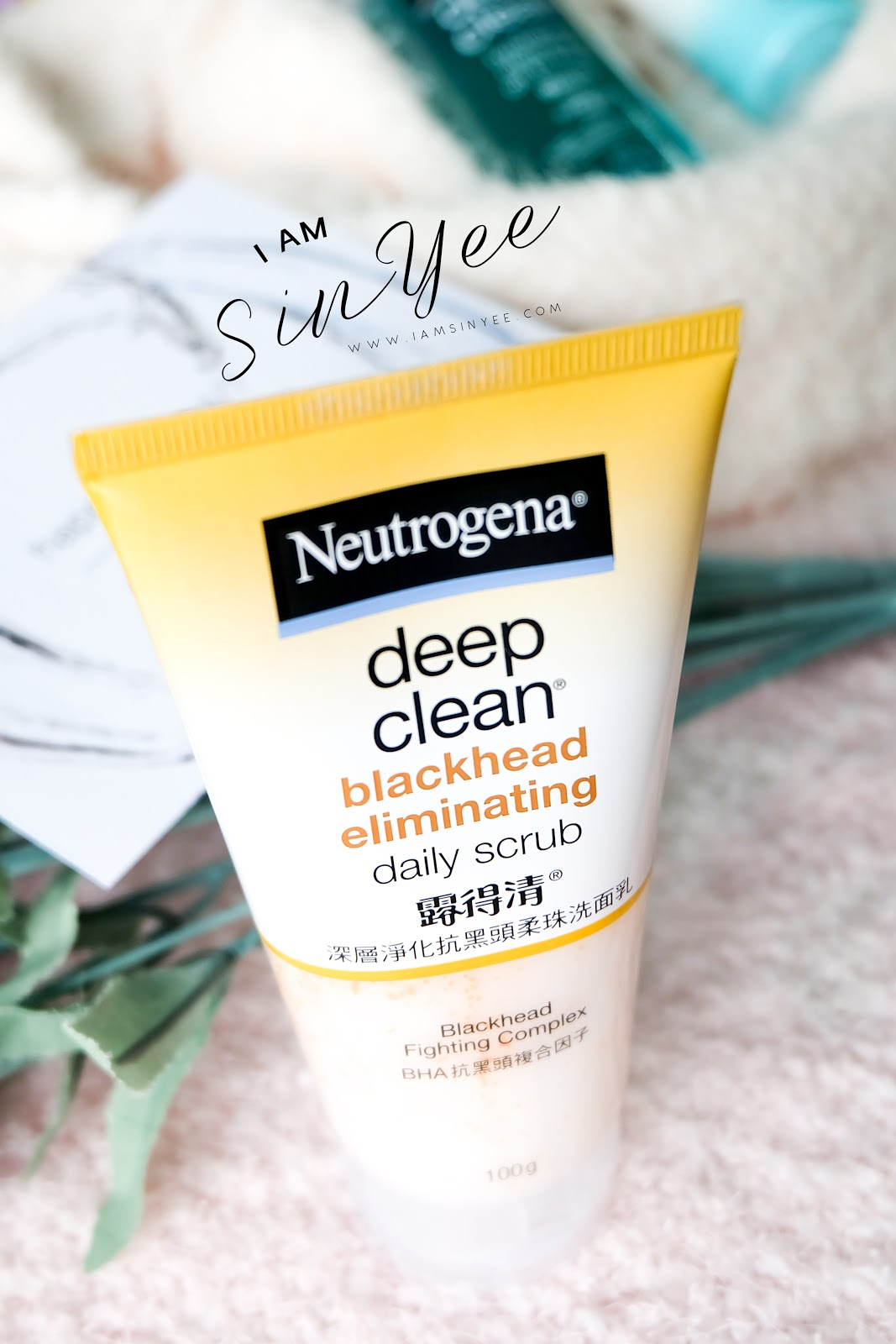 This Deep Clean Blackhead Eliminating Daily Scrub Contains Microbeads, That  Can Effectively Exfoliate Blackheads From Our Pores Much Easier