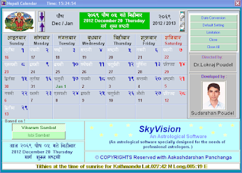 Download nepali calendar with date converter.