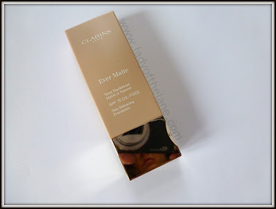 Clarins Ever Matte SPF 15 Foundation
