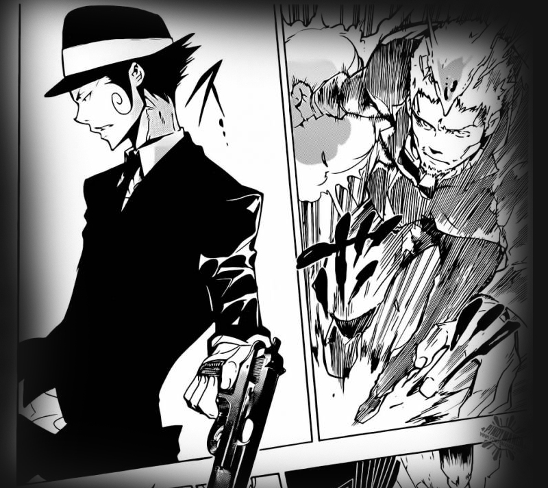 Hitman Reborn Manga 370 : Iemitsu Vs Adult Reborn