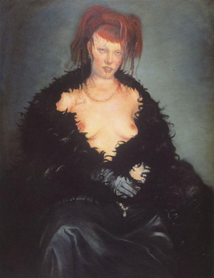 Бельгийский художник. Rafael Ramirez